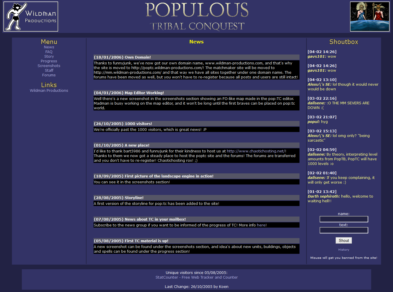 Populous: The beginning | Resources - Taity-mini productions